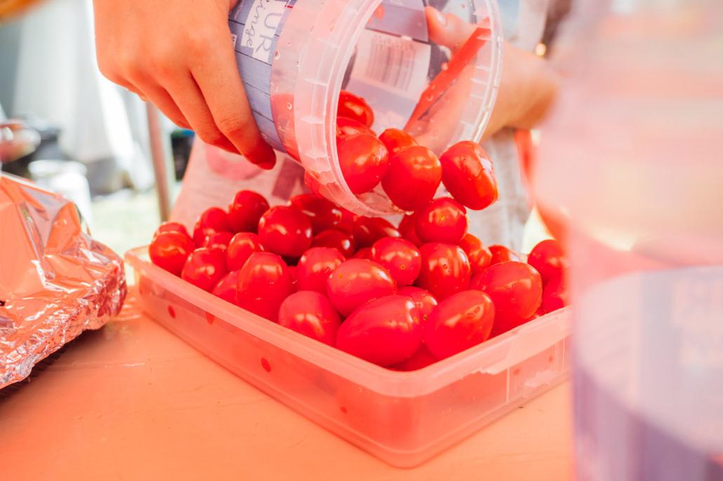 Auch Tomaten sind lecker