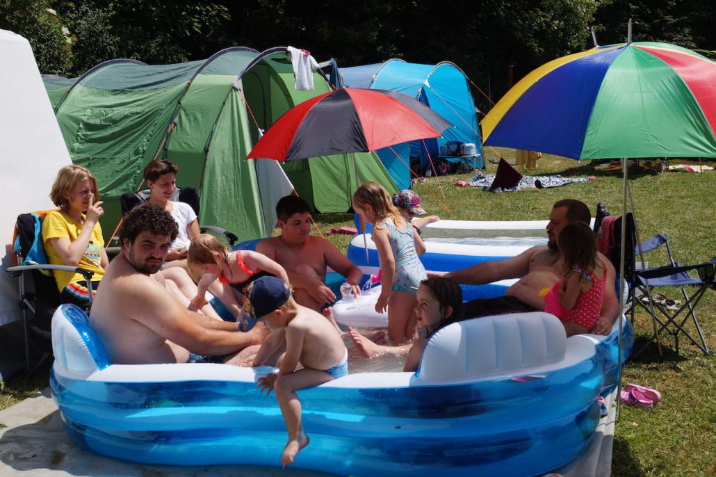 Jetzt nochmal in den Pool