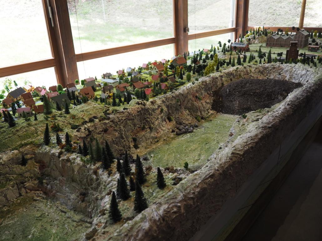 Der Tagebau in Miniatur