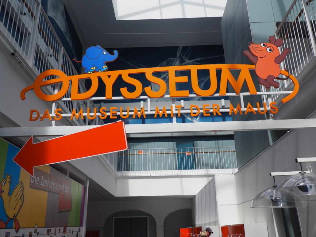 Jetzt geht es ins Odysseum
