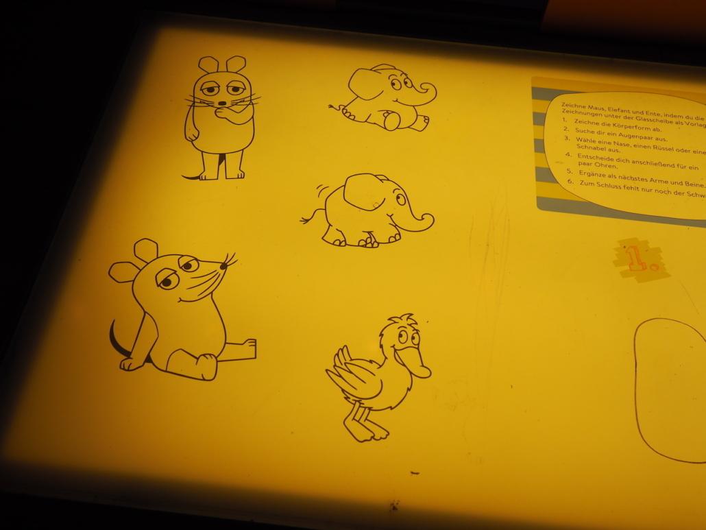 Maus, Elefant und die Ente
