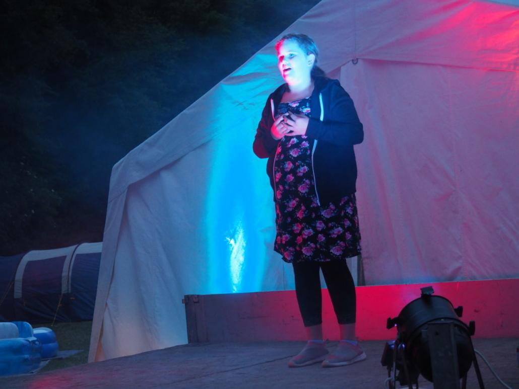 Amelie singt ihr Finallied